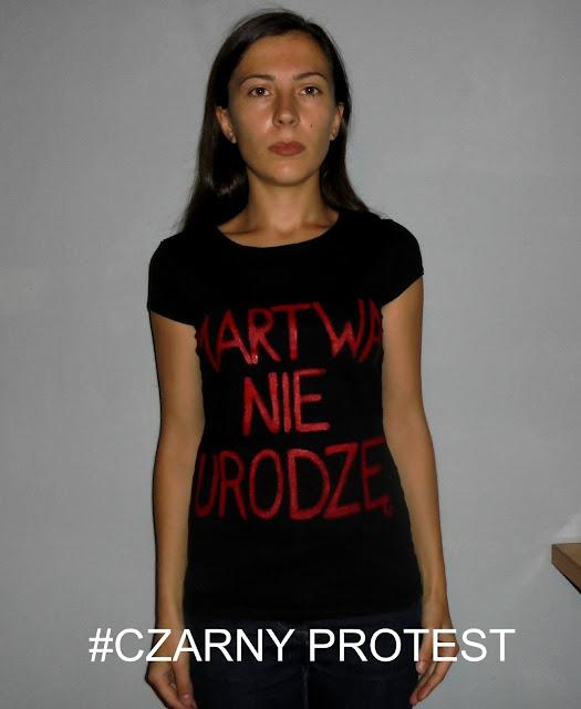 MARTWA NIE URODZĘ #CZARNY PROTEST