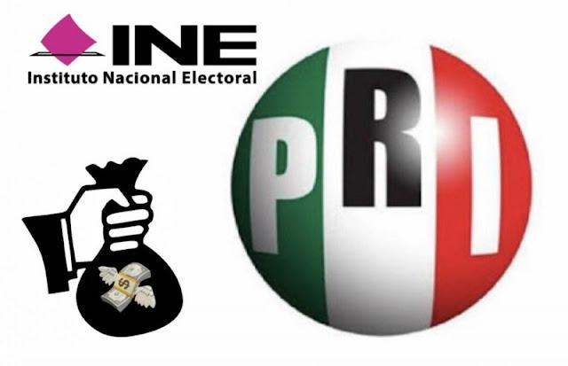 INE entregará $6 mil 788.9 millones a partidos en 2018; el PRI recibirá el mayor monto.