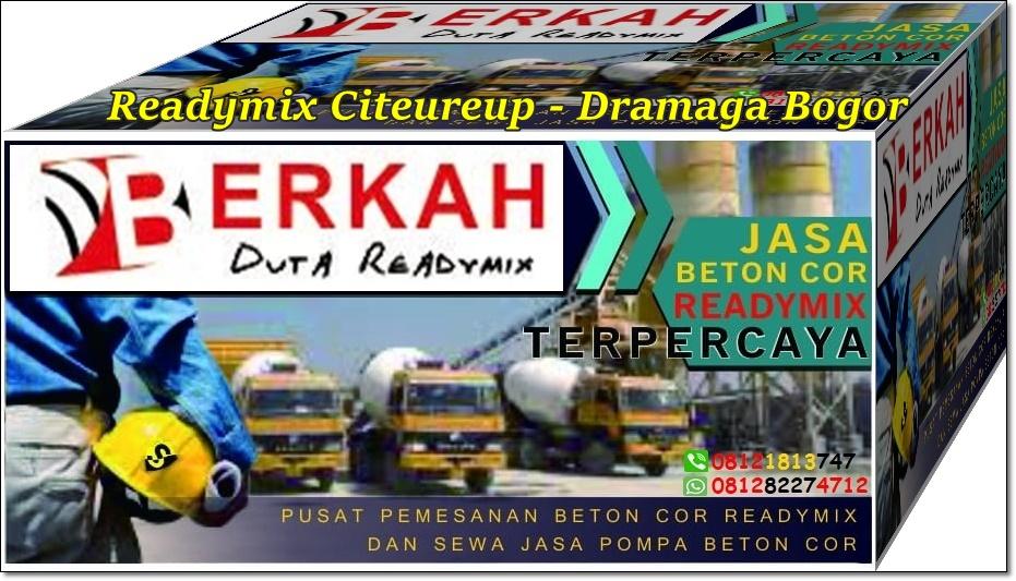 Harga readymix Dramaga Bogor