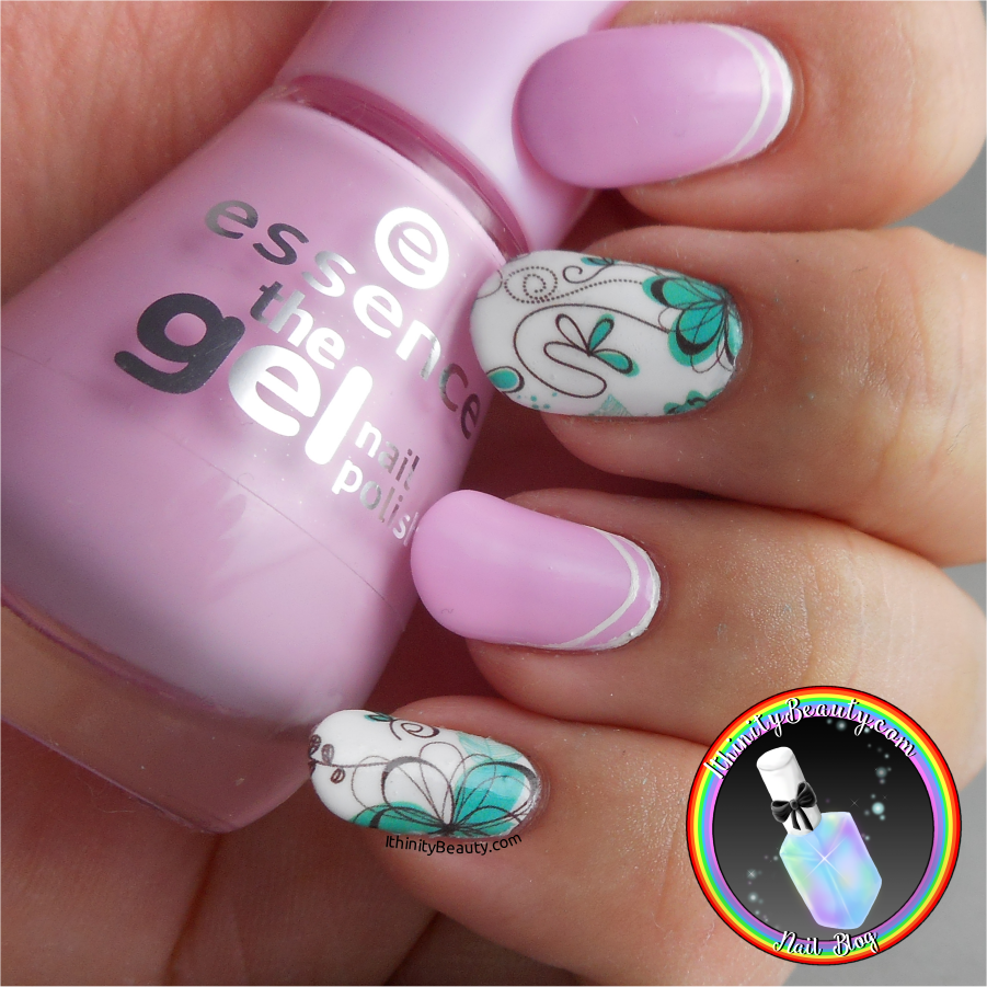 Nail Art Ideas nail art water decal : Chic Flower Water Decals - Born Pretty Store Review ...