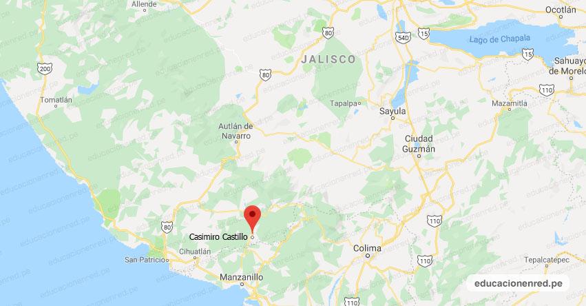 Temblor en México de Magnitud 4.0 (Hoy Domingo 22 Diciembre 2019) Sismo - Epicentro - Casimiro Castillo - El Chico - Jalisco - JAL. - SSN - www.ssn.unam.mx