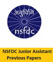 NSFDC Junior Assistant Previous Papers