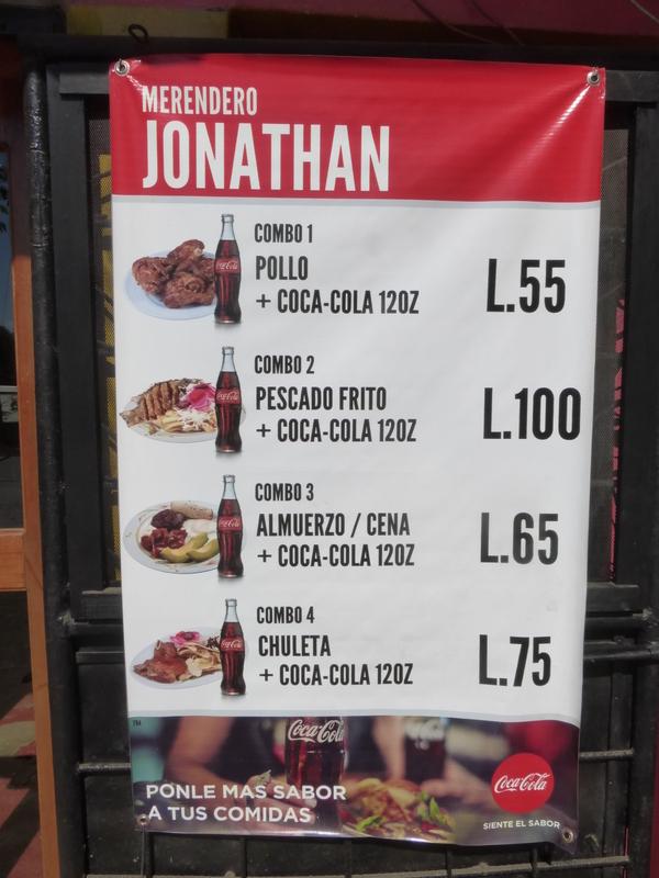 Comida en Honduras