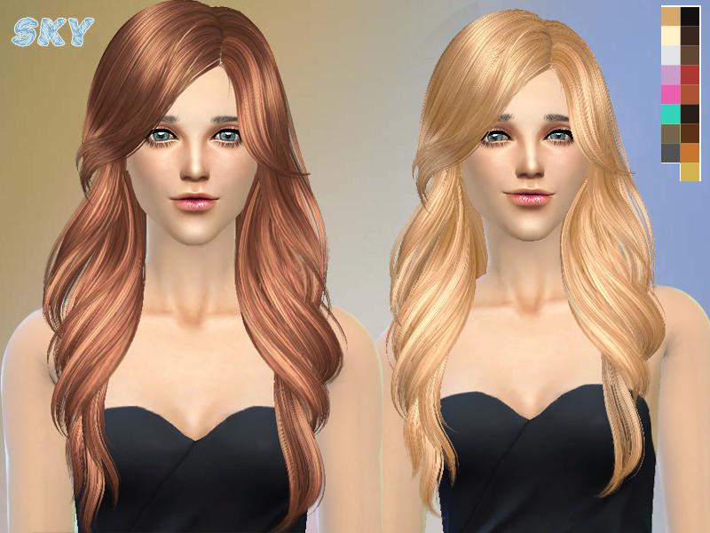 Sorprendentemente fácil contenido personalizado sims 4 peinados Imagen De Consejos De Color De Pelo - LOS SIMS DE FLOR: PACK PEINADOS SIMS 4