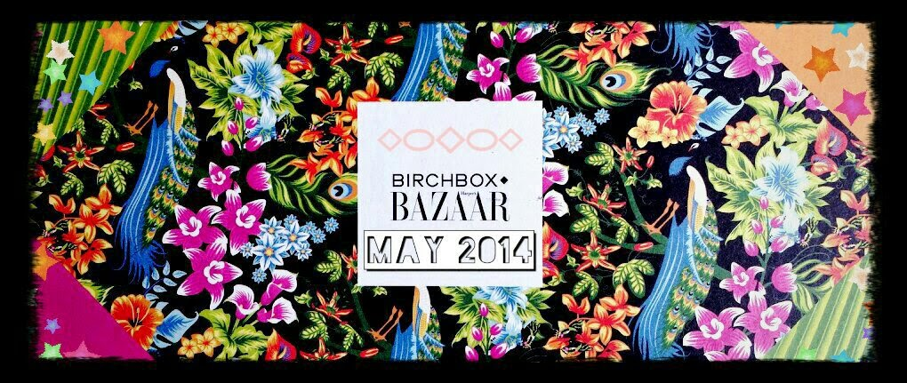 Birchbox May 2014 Harper's Bazaar