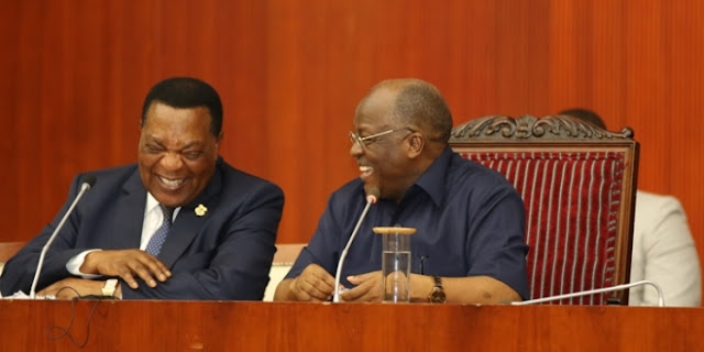 Dr. Mahiga representing President Magufuli at a special meeting of ...
