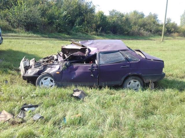 авария произошла в Миякинском районе около 16 часов.