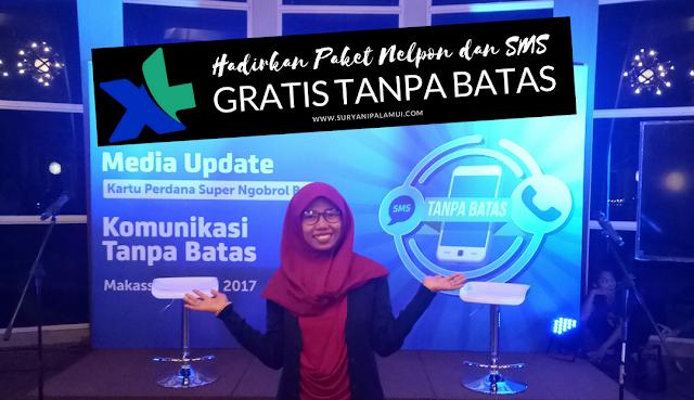 XL Hadirkan Paket Nelpon dan SMS GRATIS Tanpa Batas Yanikmatilah Saja