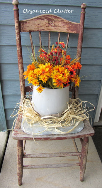 Fall Patio Chair