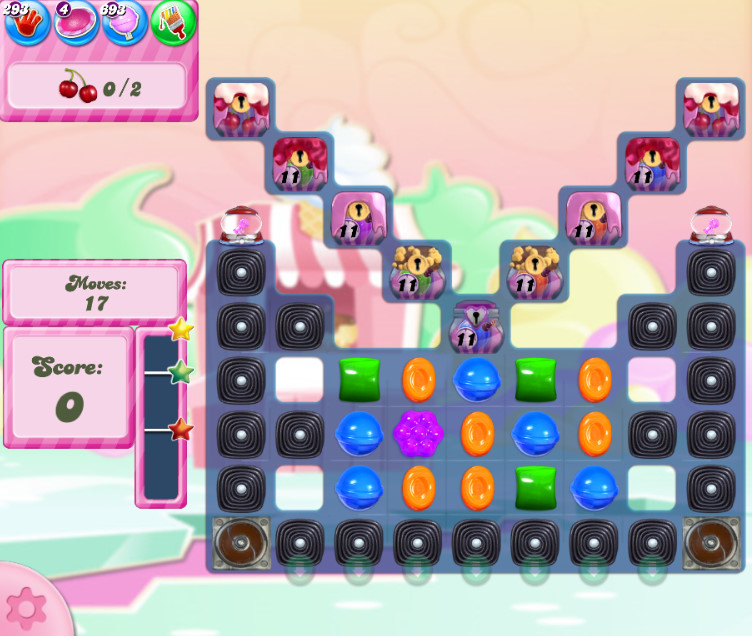 Candy Crush Saga level 2800