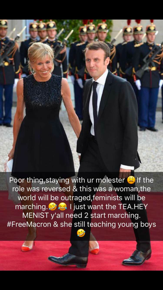 Welcome To Miccolo S Blog 64 Yr Old Wife Briggitte Of The 39 Yr Old French President Macron Brainwashed Molested Him Dencia