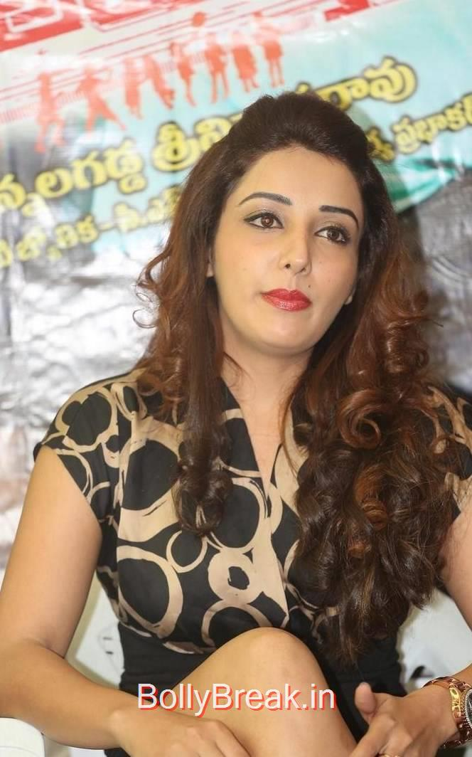 Tollywood ActressSonia Mann, Sonia Mann Hot Pics from Dhee Ante Dhee Release Date Press Meet