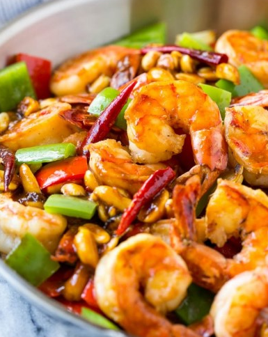 KUNG PAO SHRIMP RECIPE