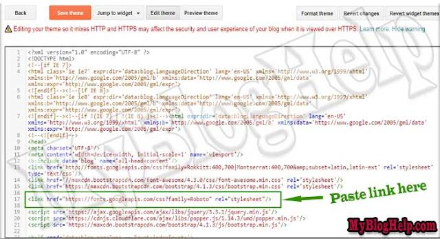 Google-Font-Link