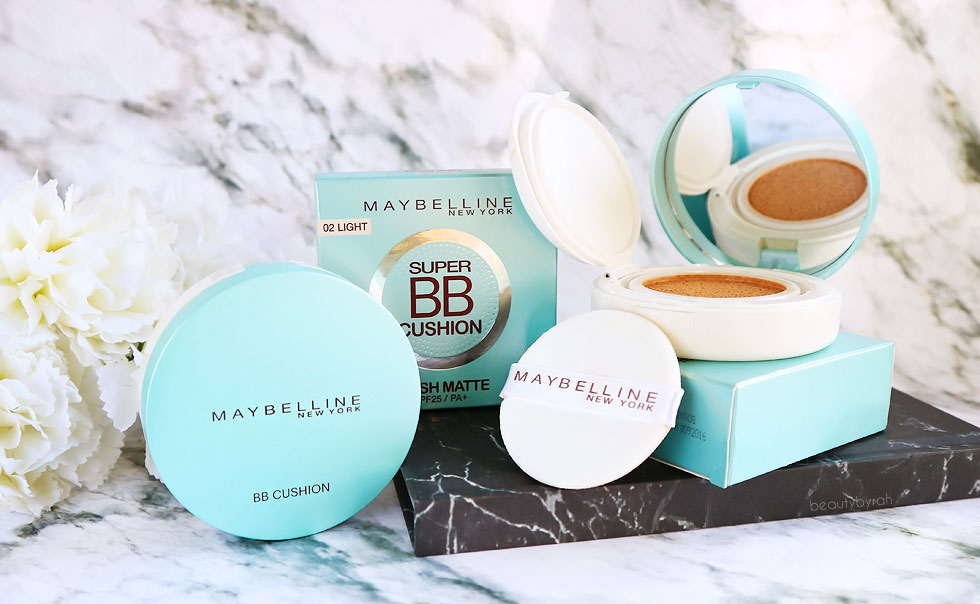 New Maybelline Fresh Matte Super BB Cushion Review