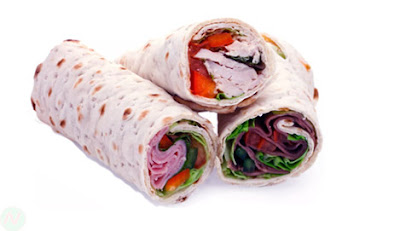 Wrap bread, wrap food