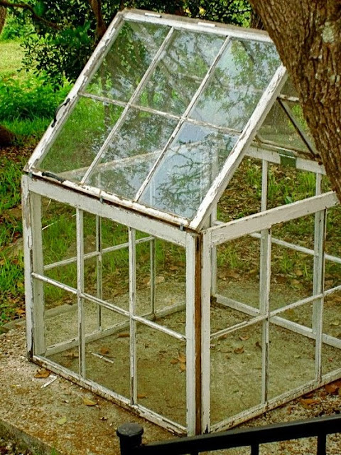 Astute Homestead Upcycled Window Greenhouse