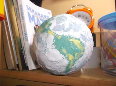 Cara Membuat Miniatur Planet
