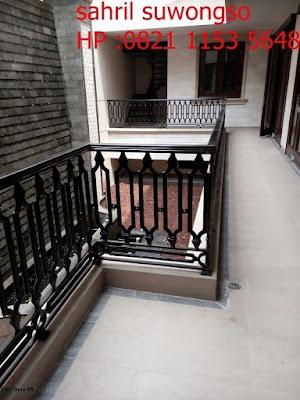 balkonrailing untuk rumah mewah