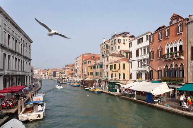 Região de Cannaregio em Veneza