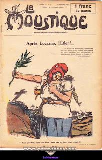 Le Moustique, Journal Humoristique Hebdomadaire, numéro 7, année 1931