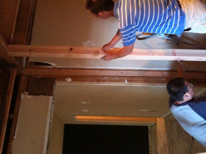 Kitchen Remodel Dallas Inexpensive Houston Remodeling 休斯顿张先生家厨房改造 理石台面的安装 地砖 地板工程