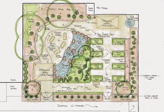Dream Big | The Proposed Garden Layout