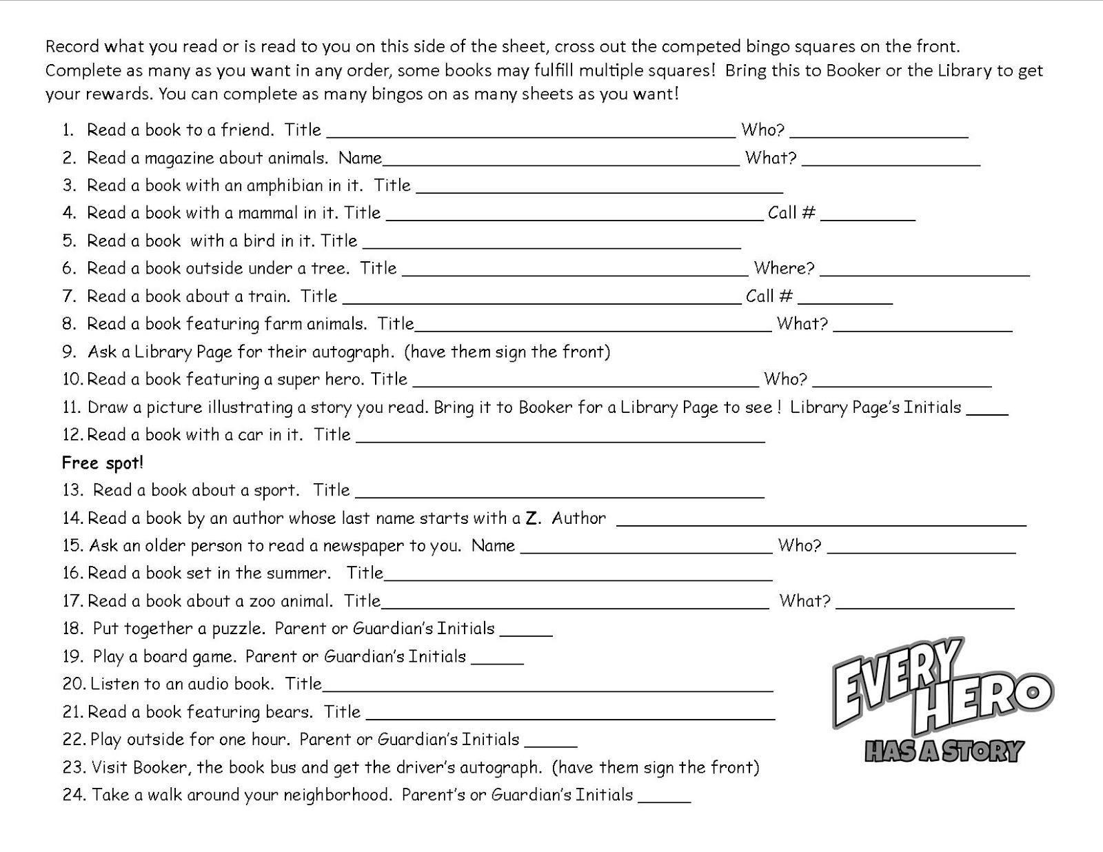 Worksheets Story Reading For Grade 3 childrens events and resources every hero has a story summer for preschool through 3rd grade kids going into 3 these include read to me click on images enlarge then print