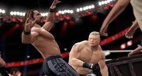 WWE 2K18 match