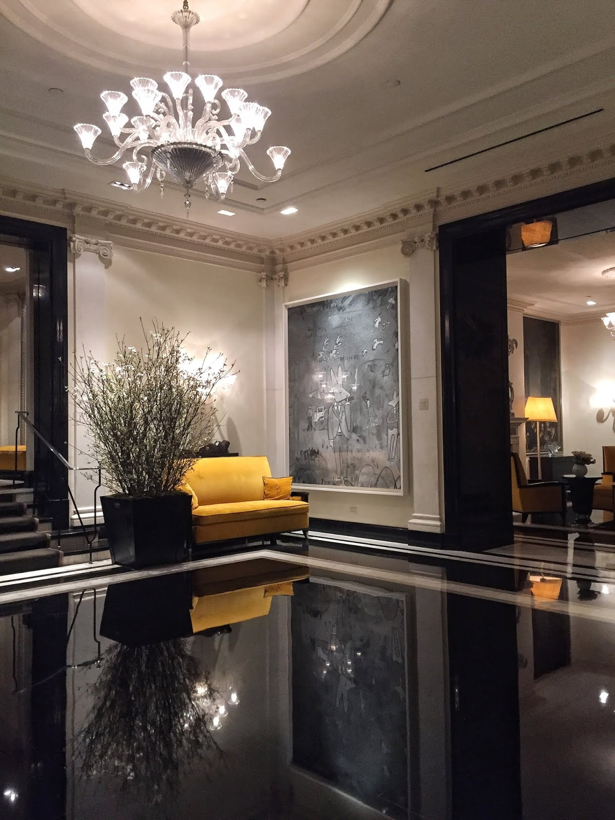 New York City travel diary Carlyle Hotel