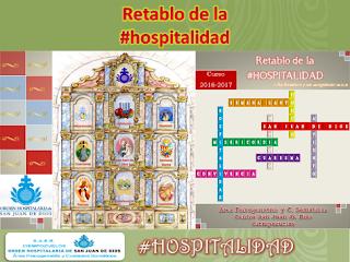 Carteles dinámica Retablo de la #hospitalidad