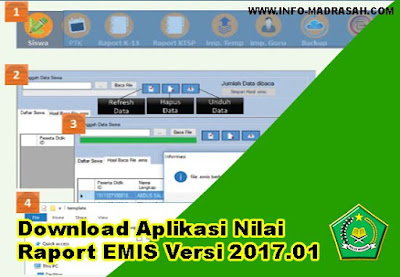 Download Aplikasi Nilai Raport EMIS Versi 2017.01