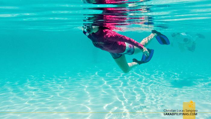 Kalanggaman Island Palompon Snorkeling