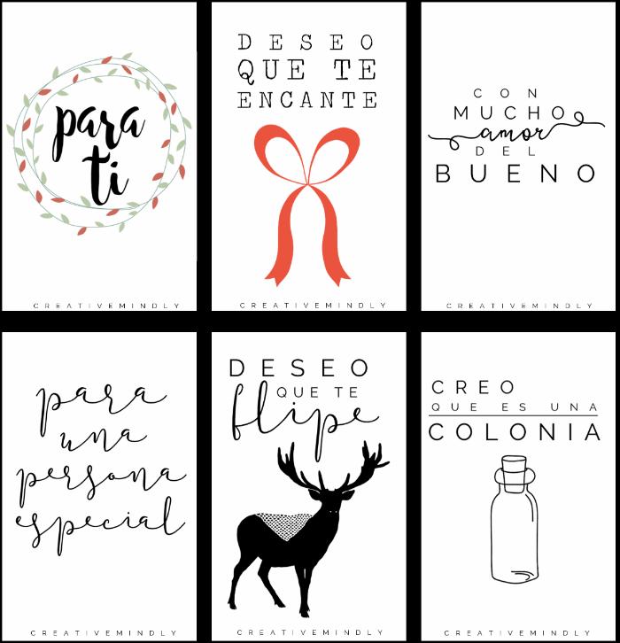 etiquetas navidad gratis