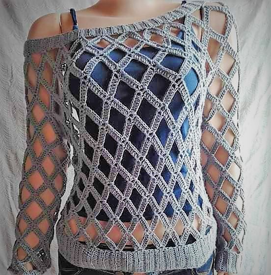 Diamond Top Crochet Pattern Free
