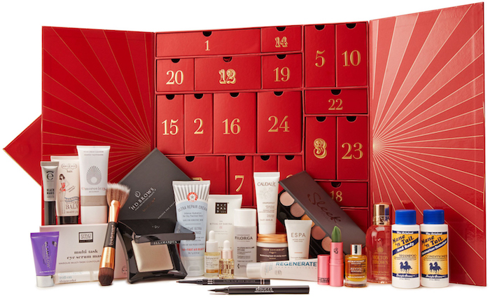 LookFantastic Beauty Advent Calendar 2018 SPOILERS, CONTENTS