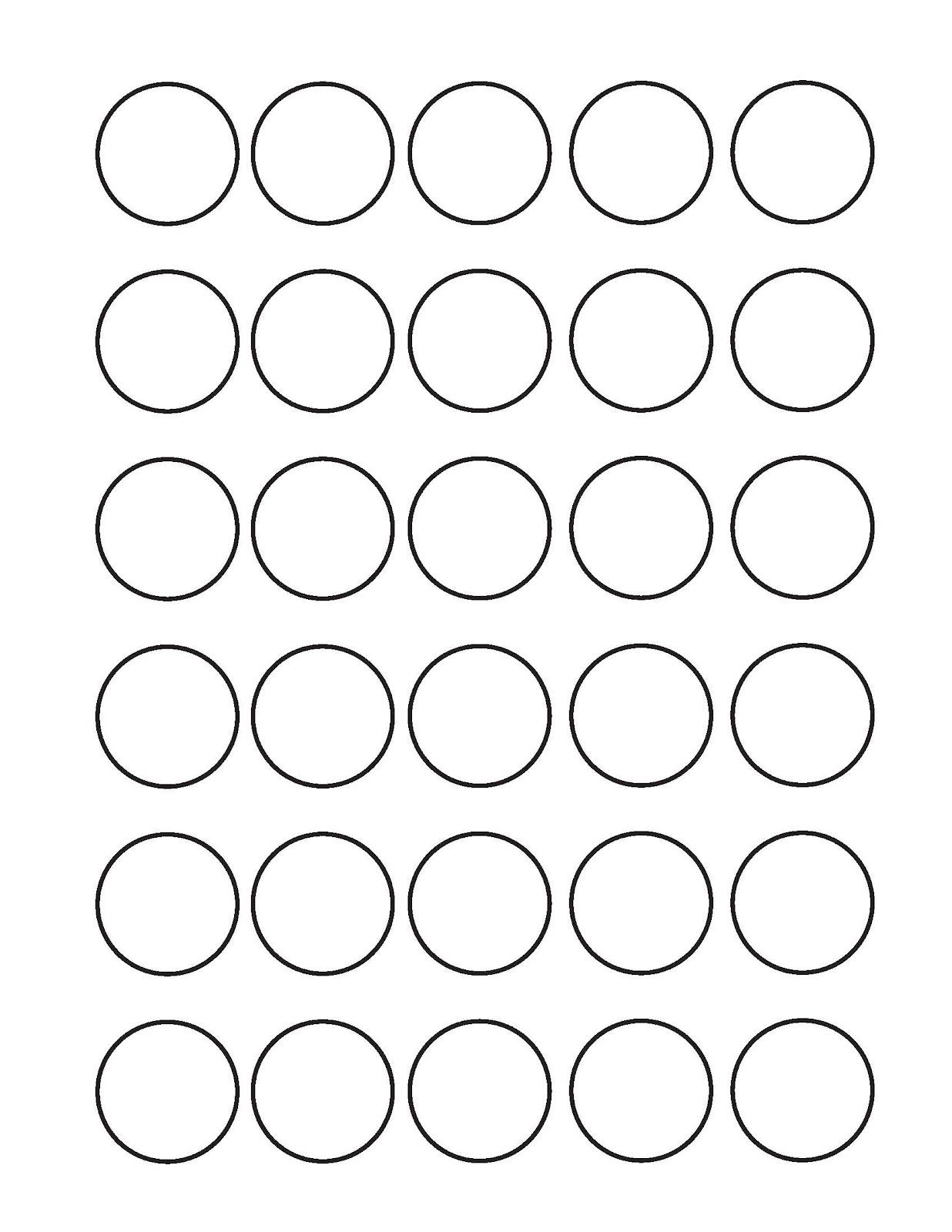 Раскраска круг для детей