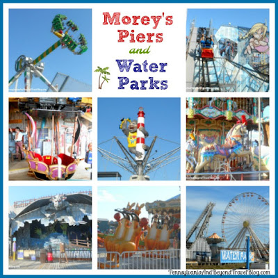 Morey's Piers and Water Parks in Wildwood, New Jersey