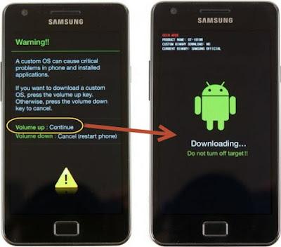 Galaxy S6 Edge Plus G928F Download Mode