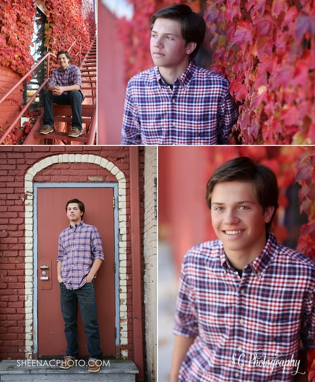 fall senior pictures penn high school