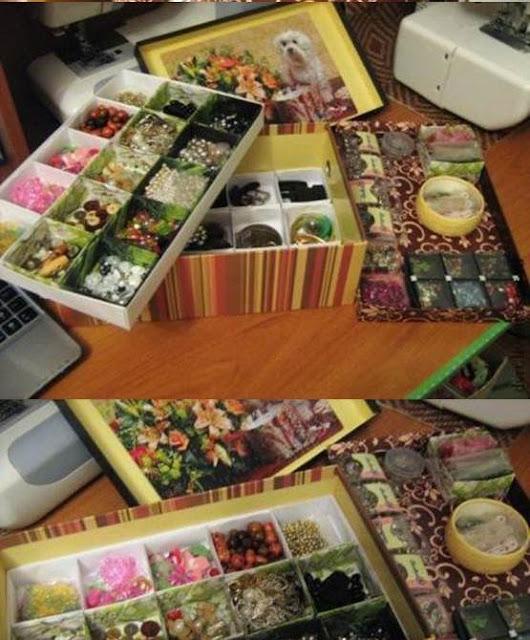 shoebox-turned-DIY-Beads-and-Buttons-Organizer-icreativeideas