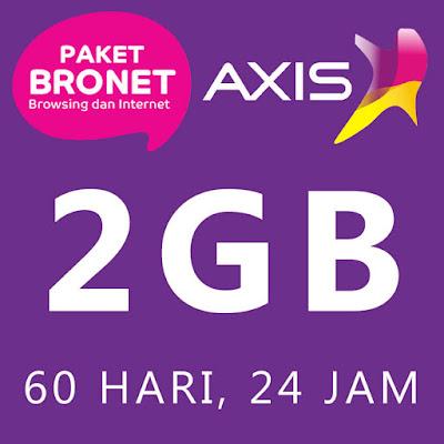 Paket Kuota Internet Murah Axis 2GB