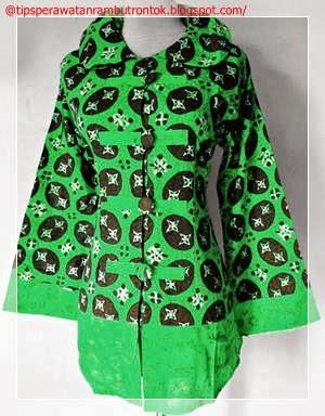 Gambar Model Baju Batik Wanita Modern Gambar Model Baju Batik Gamis