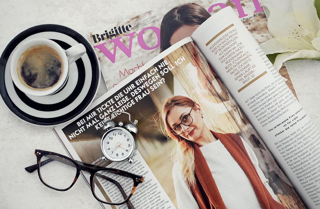 Gewollt Kinderlos, Dossier in der Brigitte Woman, Meinung