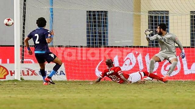 الاهلي وبيراميدز  | ملخص مباراة الاهلي وبيراميدز  - ماتش الاهلي اليوم ضد بيراميدز 1-0