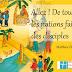 """Jésus a dit : """"Allez ! De toutes les nations faites des disciples """" (Missionnaires)"""