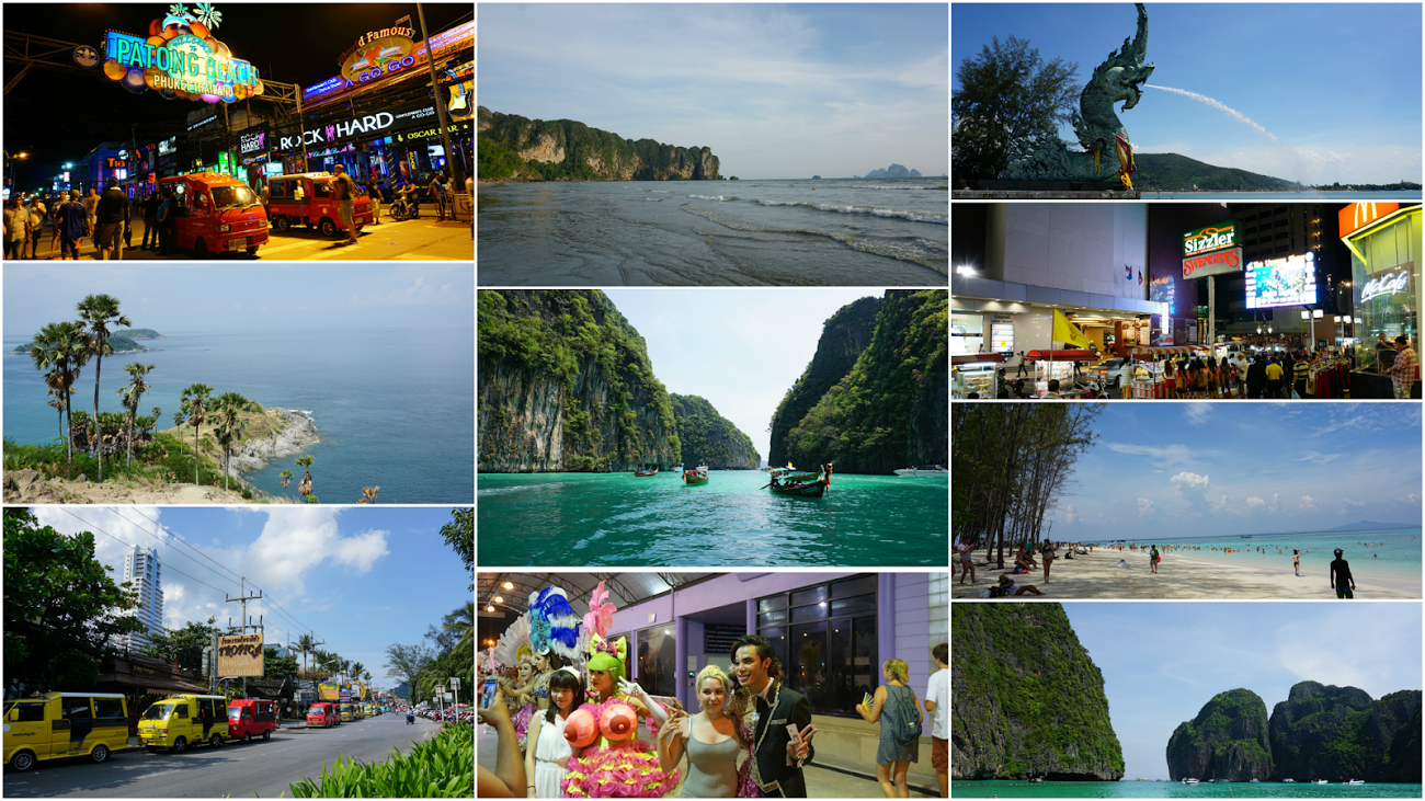 Travel Itinerary Krabi Koh Phi Phuket In 7 Days