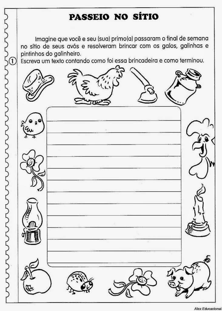 80 Atividades De Producao Textual Ou Redacao Para O 4º Ano