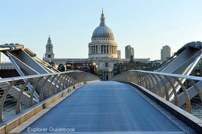 Jembatan Millenium modern milenium milenia di London