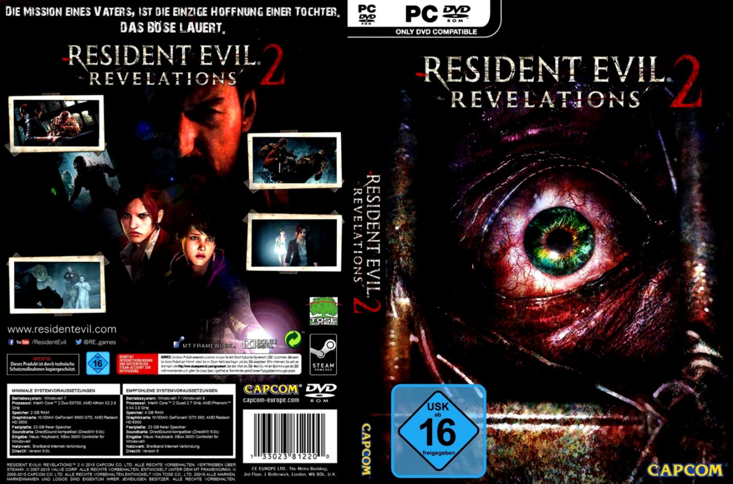 Resident Evil Revalations Games Dvd Cover   Find Wallpapers